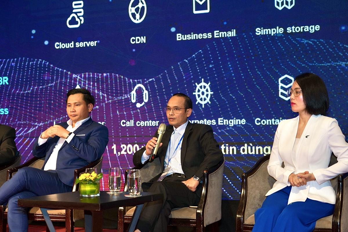 Ông Nguyễn Việt Hùng chia sẻ về nguy cơ bảo mật trên nền tảng điện toán đám mây. Ảnh: BizFly Cloud.