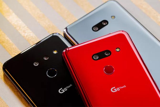 LG G8 ThinQ ra mắt đầu 2019. Ảnh: Cnet