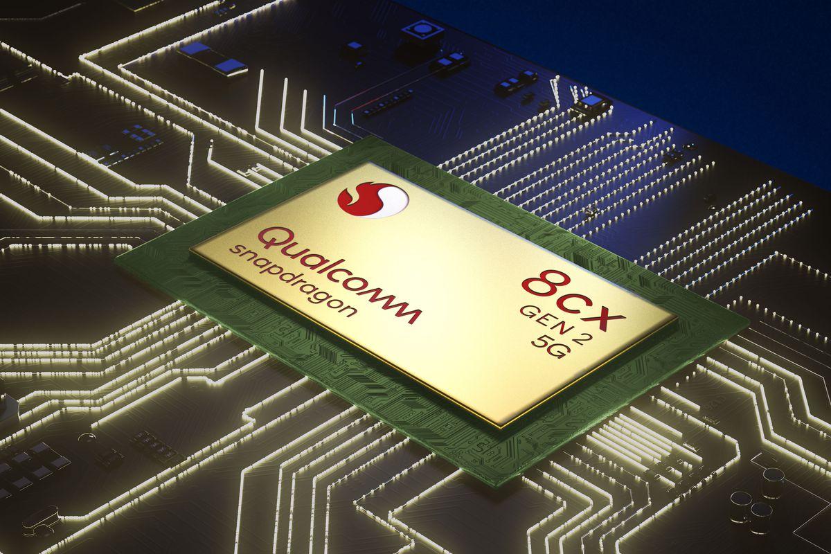 Chip 8cx Gen 2 5G dành cho laptop được Qualcomm công bố hồi tháng 9.