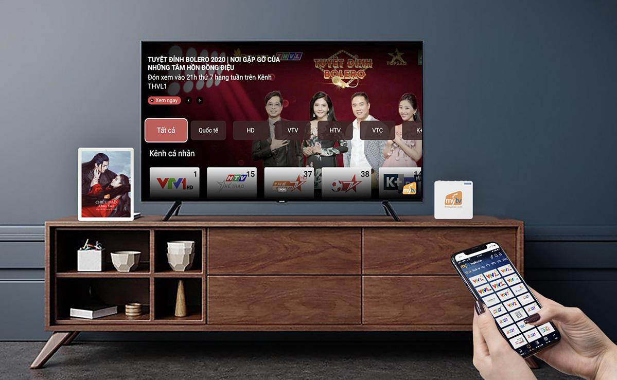 Nhiều tính năng mới trên truyền hình MyTV