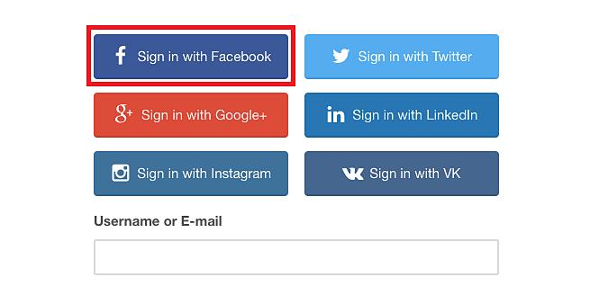 Tính năng đăng nhập với Facebook có thể là nguyên nhân dẫn đến rò rỉ. Ảnh: Whitehat Team