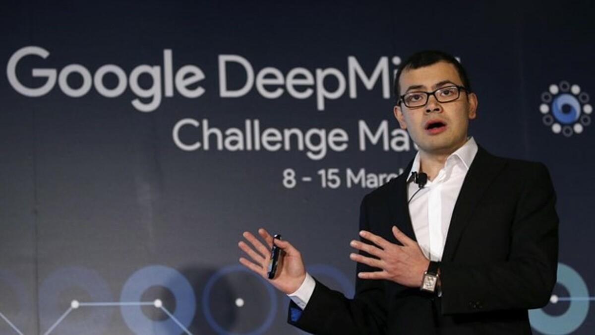 Nhà sáng lập DeepMind, Demis Hassabis. Ảnh:Reuters
