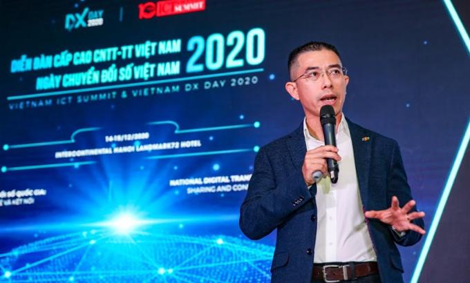 Ông Hoàng Việt Anh, Phó Tổng giám đốc FPT.
