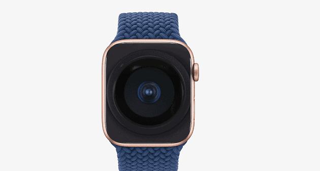 Apple có thể bổ sung tính năng camera dưới màn hình cho Apple Watch trong tương lai. Ảnh: Gizchina.