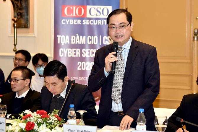 Ông Phan Thái Dũng, Phó Cục trưởng Cục CNTT - Ngân hàng Nhà nước Việt Nam.