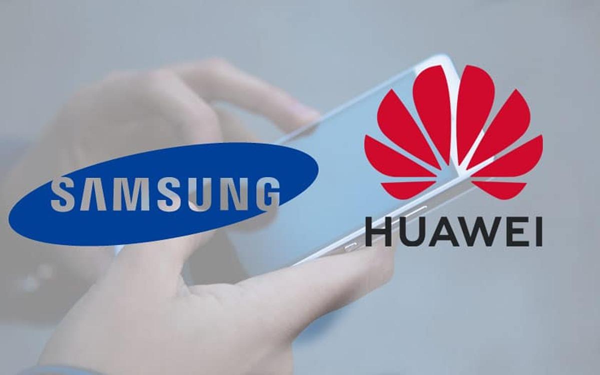 Huawei đang từng bước đe dọa ngôi vị số 1 của Samsung trong mảng di động. Ảnh: Gizchina.