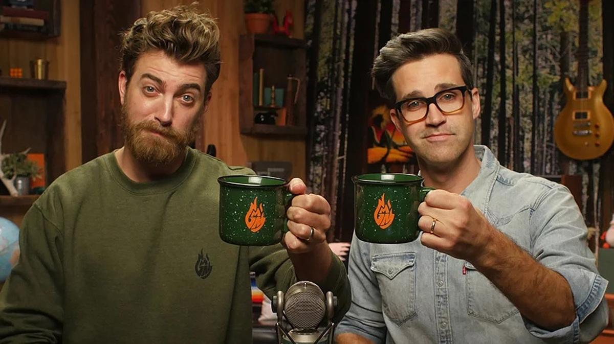Rhett (trái) và Link. Ảnh: Mythical Entertainment