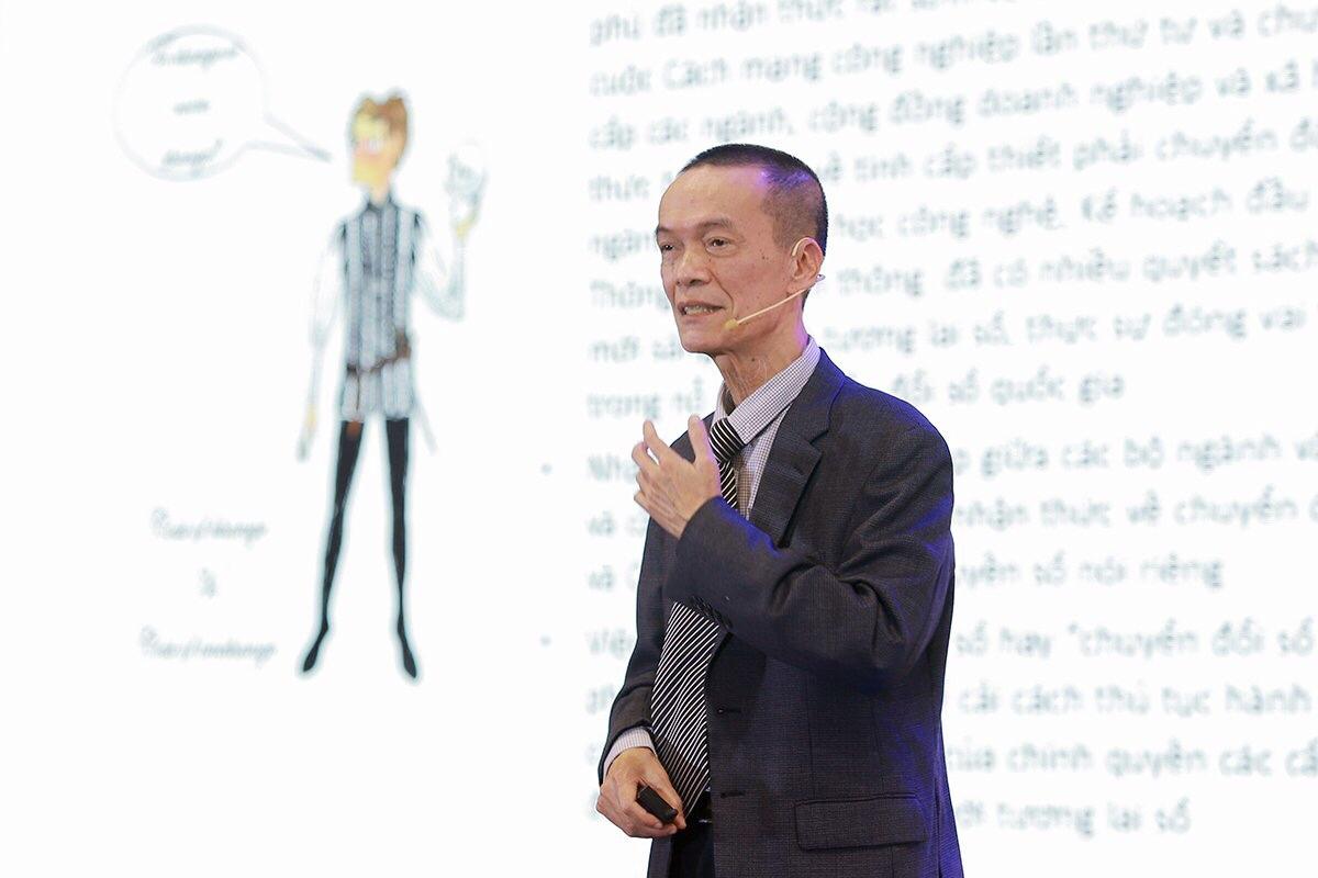 Ông Nguyễn Nhật Quang, Viện trưởng Viện Khoa học Công nghệ VINASA.