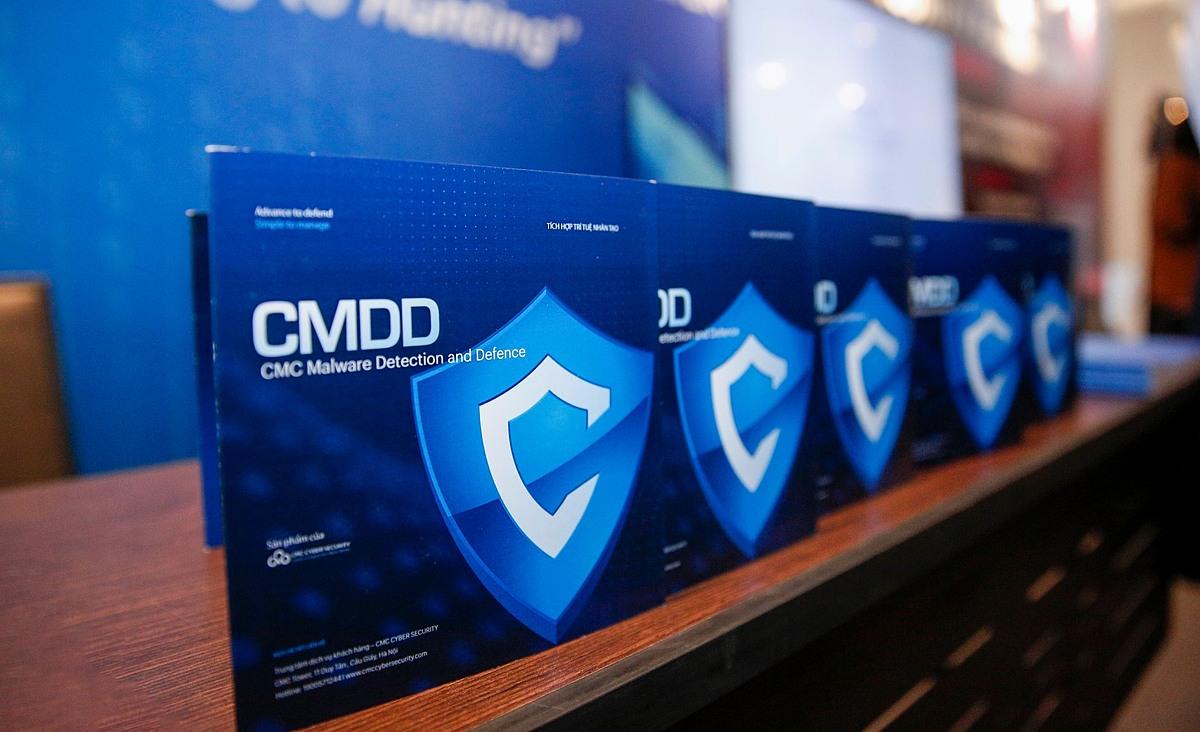 CMDD hiện là một trong những giải pháp bảo mật chiến lược của CMC.
