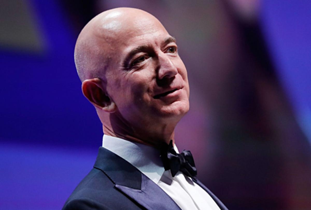 Ông chủ Amazon - Jeff Bezos. Ảnh: AFP