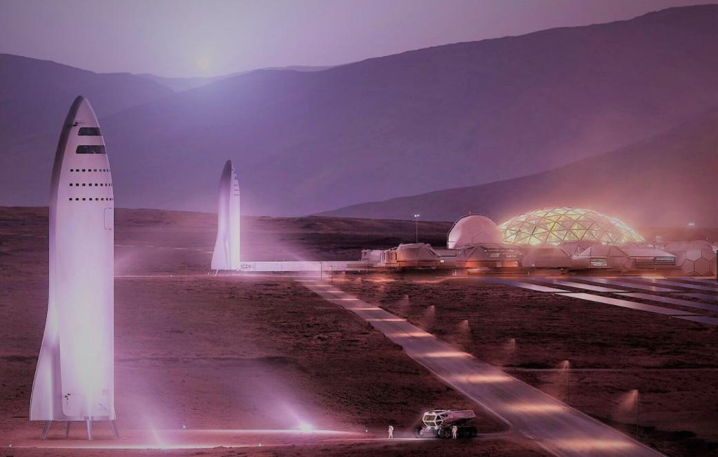 Elon Musk: Sẽ dùng tiền ảo trên sao Hỏa - 2