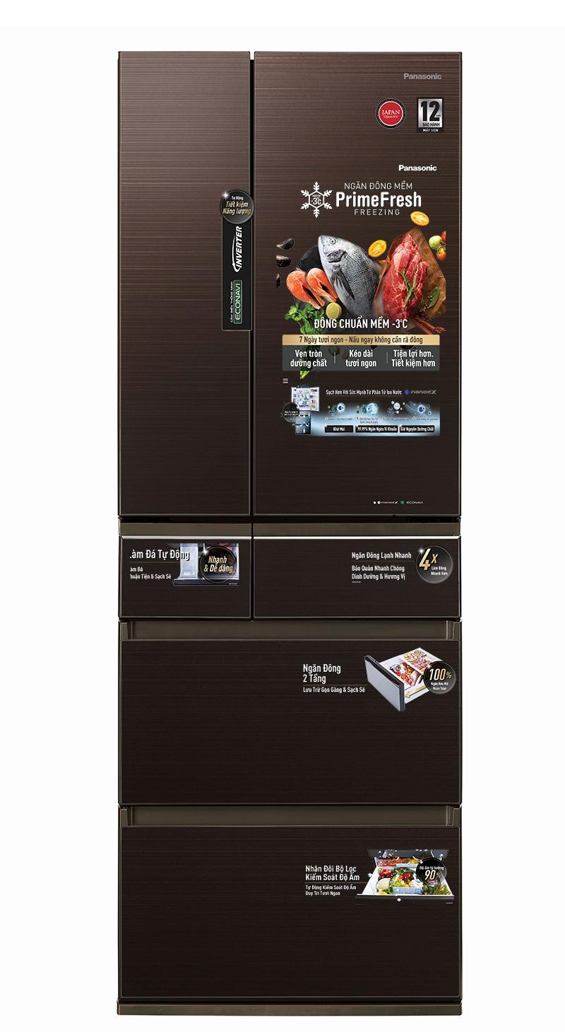 Mẫu tủ lạnh 6 cánh, nhập khẩu nguyên chiếc sẽ được Panasonic trưng bày tại Tech Awards 2020.
