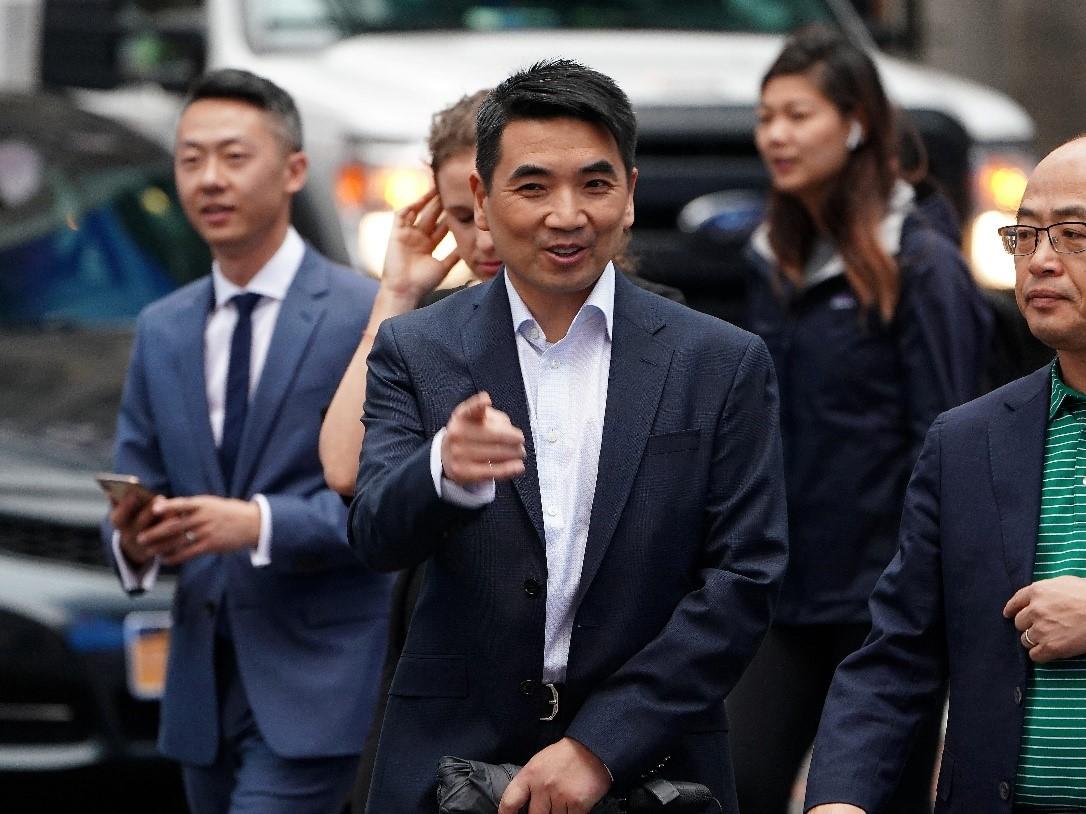 Ông Eric Yuan, 49 tuổi, là nhà sáng lập kiêm CEO của công ty khởi nghiệp Zoom Technologies. Ảnh: Reuters