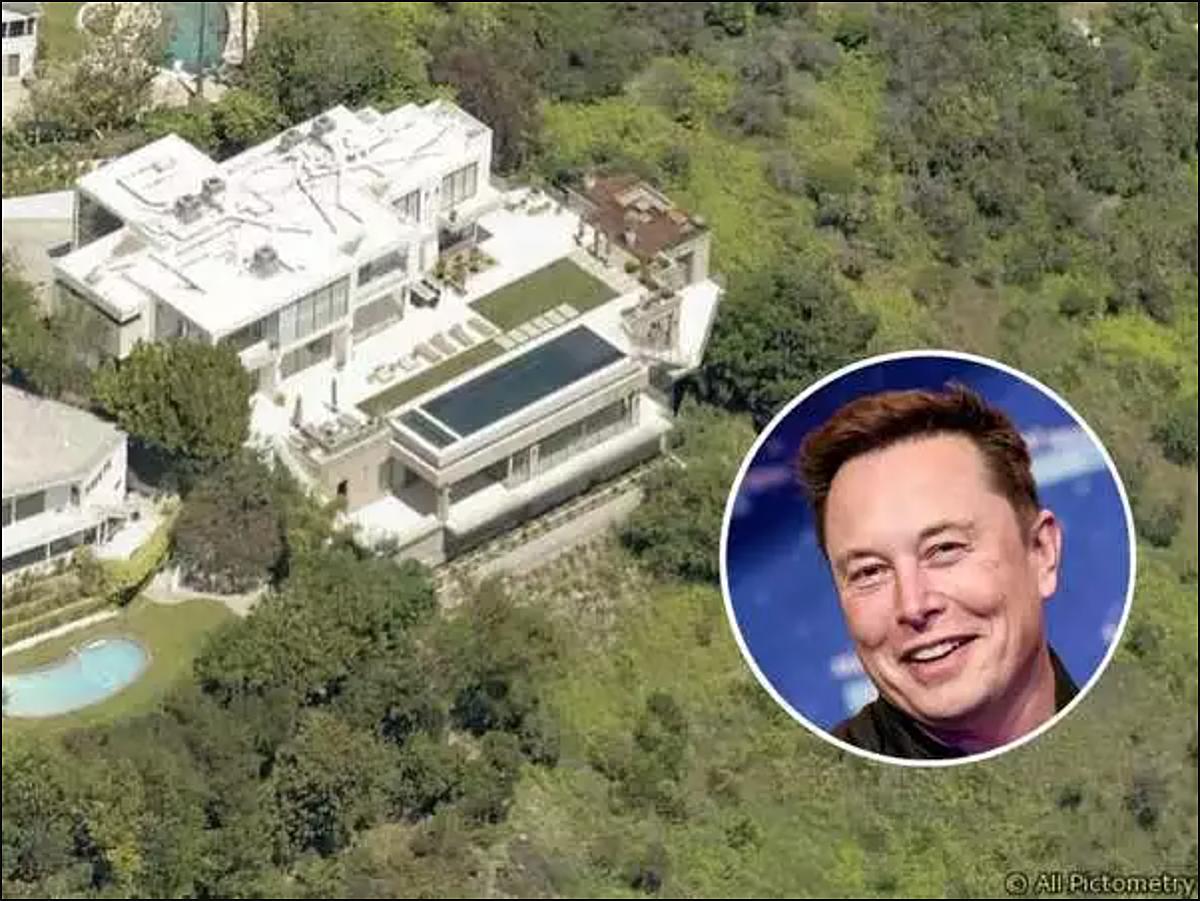 Ngôi nhà 6 phòng ngủ, trị giá 29,72 triệu USD vừa được Musk bán.