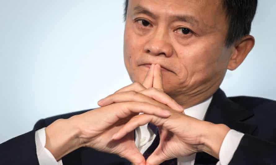 Nhà sáng lập Alibaba nhiều lần chỉ trích các chính sách của Trung Quốc. Ảnh: AFP.