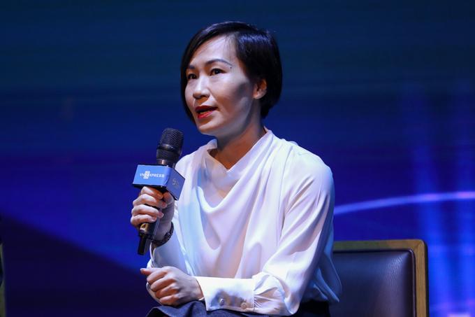 Bà Vũ Phương Nga - Giám đốc mảng Thanh toán di động Moca.