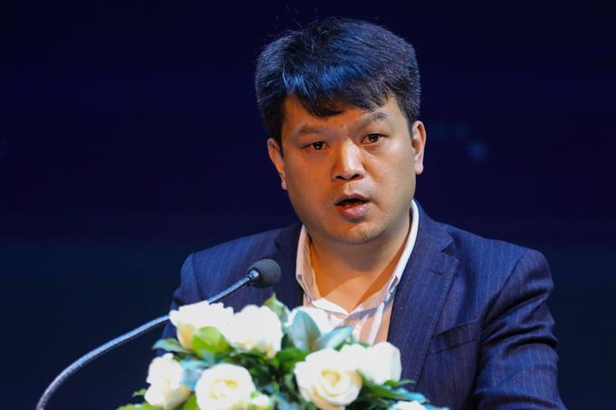 Ông Lương Phạm Nam Hoàng, đại diện Cục Viễn thông, Bộ TTTT chia sẻ tại sự kiện của VnExpress chiều 7/1.