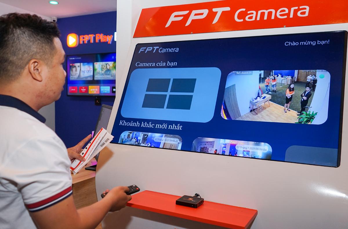 El sistema de cámara de esta cámara FPT se puede controlar a través de FPT Play Box +.
