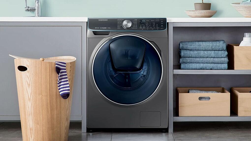 Máy giặt Samsung thế hệ mới AddWash tích hợp công nghệ thông minh.