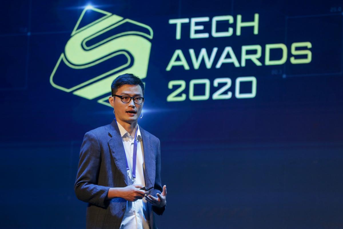 Ông Trần Thế Toàn - Phó giám đốc công nghệ mảng di động Lazada. Ảnh: Quỳnh Trần.