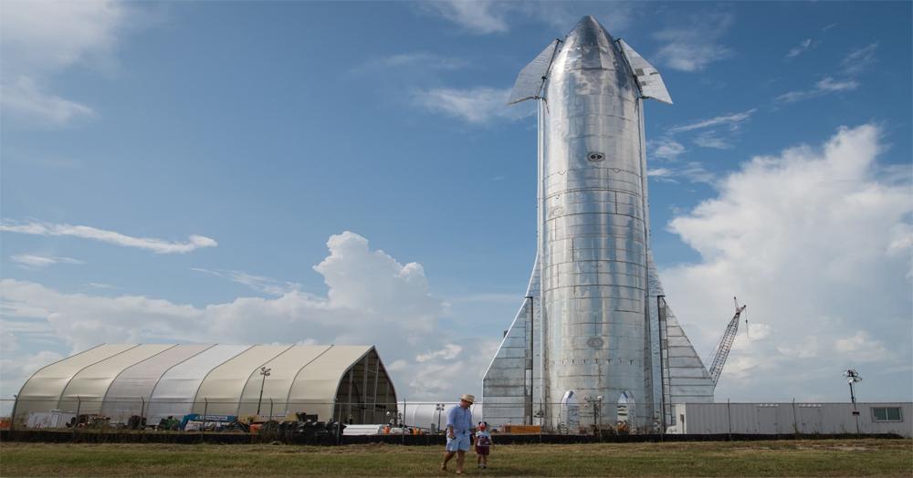 SpaceX đang phát triển các nguyên mẫu Starship tại cơ sở ở Nam Texas. Ảnh: Business Insider.