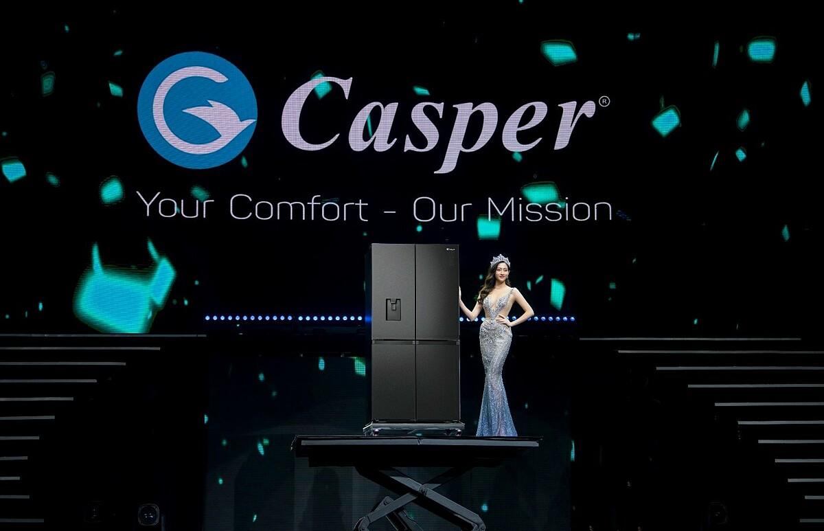 Sau những thành công với các sản phẩm điều hoà tại thị trường Việt Nam, Casper tiếp tục giới thiệu thêm dòng sản phẩm tủ lạnh tới người dùng từ ngày 7/1. Thương hiệu điện tử Nhật Bản sẽ cung cấp các dòng tủ lạnh Multidoor, Side by side, 2 cửa và một cửa.