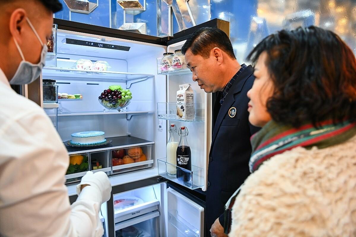 Loạt tủ lạnh Casper ra mắt khách hàng Việt - 2