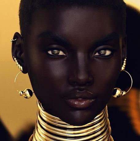 Người mẫu ảo Shudu Gram.