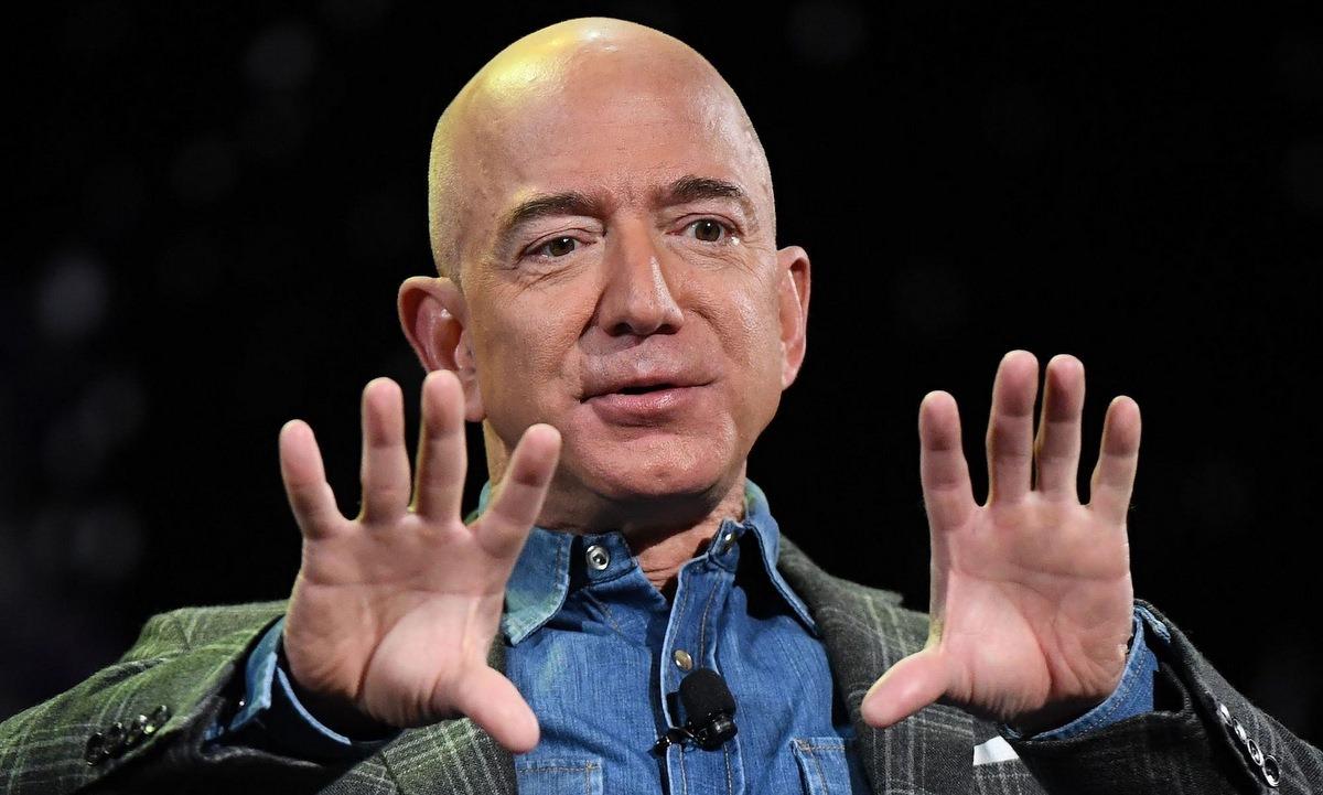Ông chủ Amazon Jeff Bezos. Ảnh: AFP.