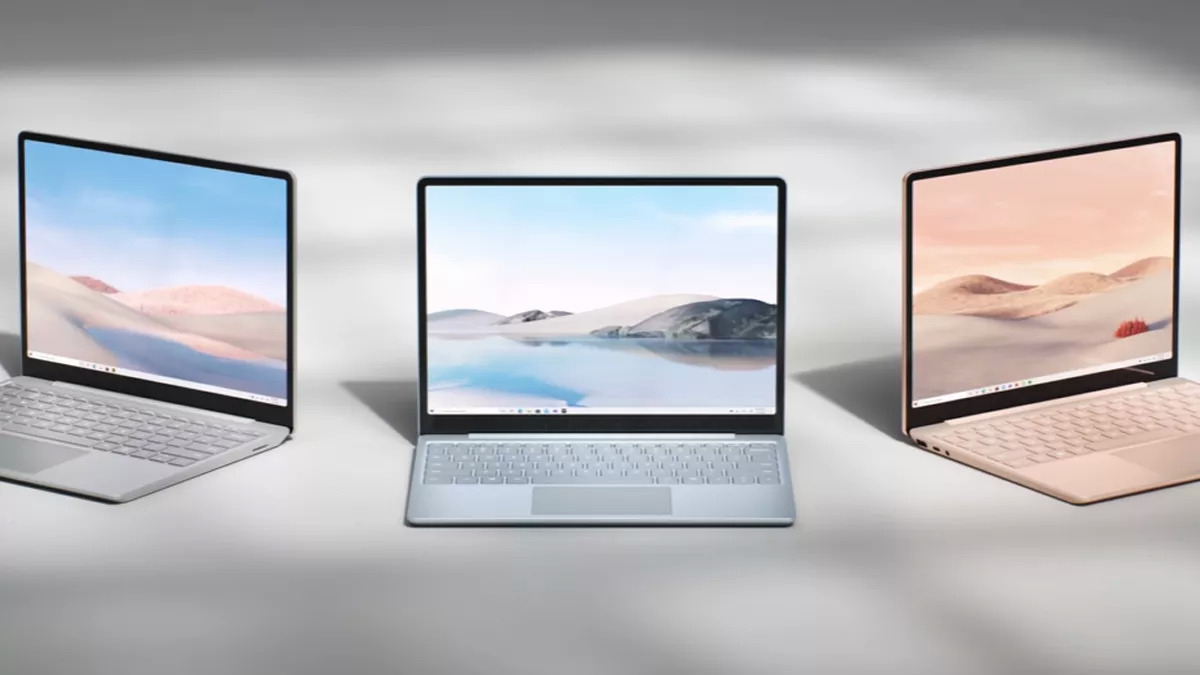Surface Laptop Go.