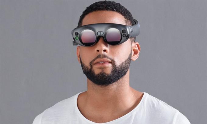 Một ý tưởng cho kính thực tế ảo của Apple. Ảnh: AppleInside.