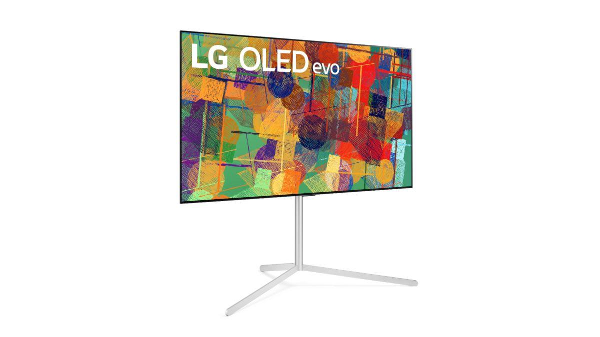 TV LG G1 - model sử dụng tấm nền OLED mới có độ sáng cao - được giới thiệu tại CES 2021.