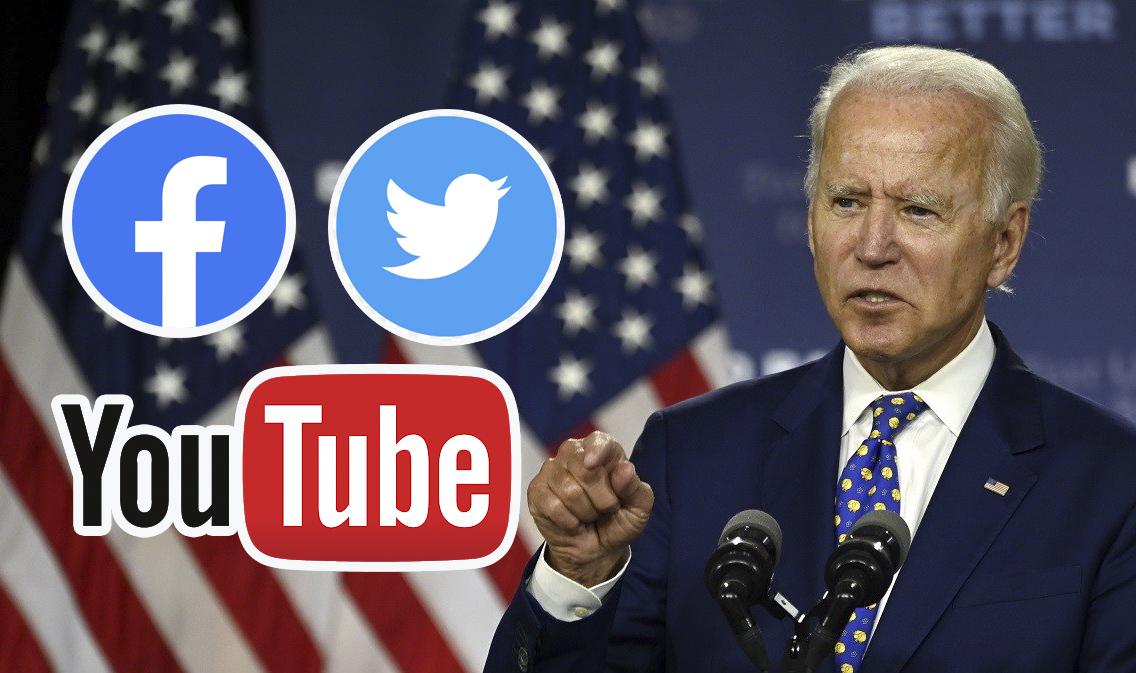 Áp lực của mạng xã hội dưới thời Biden