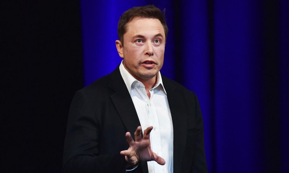 Elon Musk trong một sự kiện của Neuralink năm 2019. Ảnh: AFP.