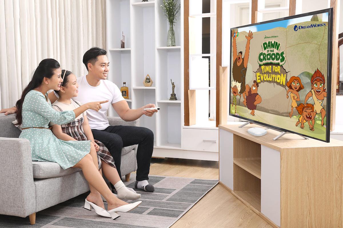 Gia đình sẽ có nhiều lựa chọn với gói kênh đa dạng từ Truyền hình FPT.