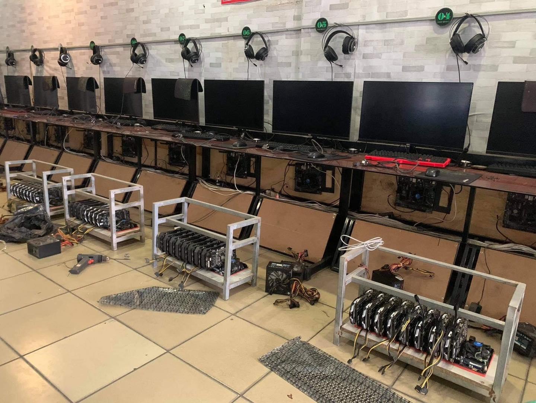 Máy chơi game được chuyển thành máy đào tiền ảo.