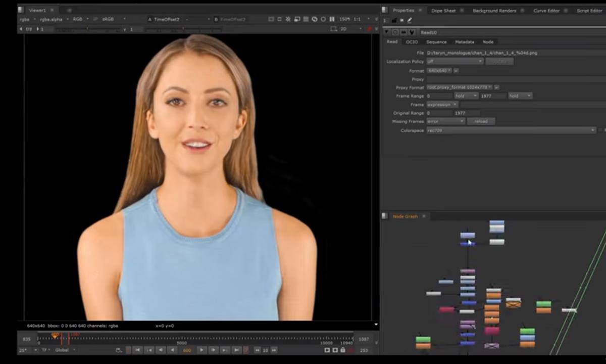 Quá trình tạo ra một bản sao kỹ thuật số của YouTuber. Video: Taryn Southern