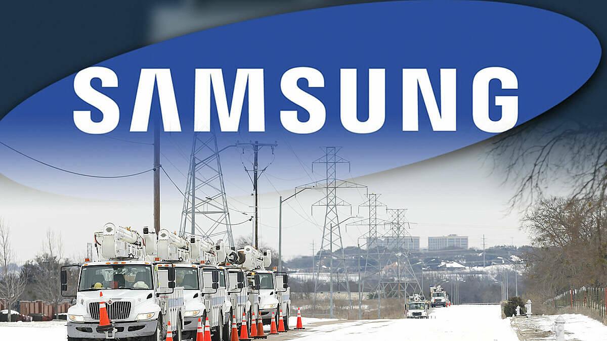 Nhà máy sản xuát chip tại Mỹ của Samsung phải ngừng sản xuất do mất điện. Ảnh: Nikkei Asia