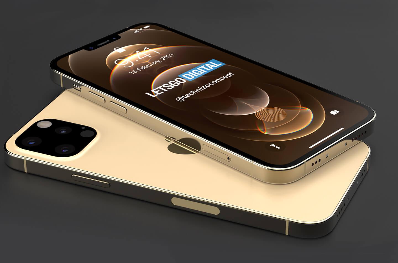 iPhone 13 Pro vẫn giữ thiết kế vuông vắn như cũ và có nhiều cải tiến. Ảnh: Letsgodigital