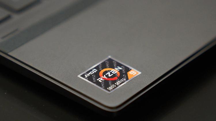 Một mẫu laptop sử dụng bộ xử lý Ryzen 9 5000 series.