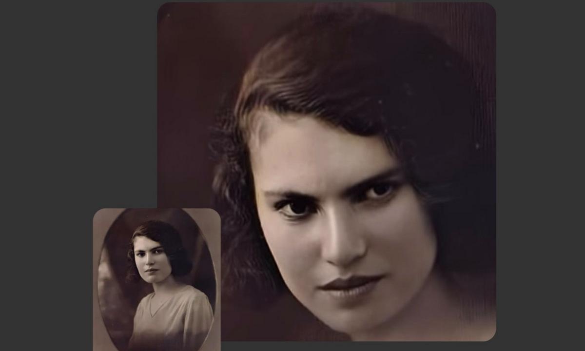 Hình ảnh được tạo ra trên hệ thống Deep Nostalgia. Ảnh: MyHeritage.