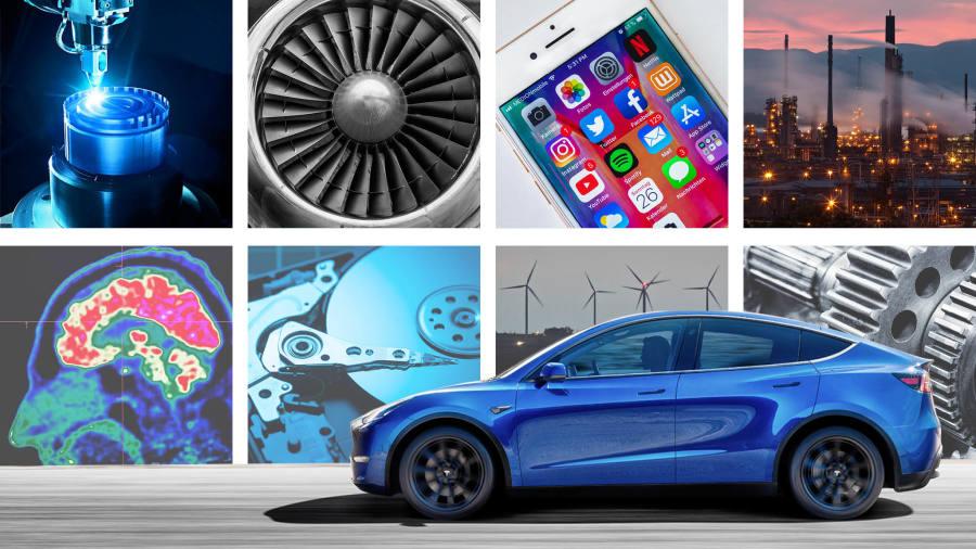Dù chỉ chiếm một lượng nhỏ nhưng các nguyên tố hoá học trong đất hiếm là phần không thể thiếu trong các thiết bị điện tử của smartphone, ôtô cho đến máy bay, vũ khí. Ảnh: Financial Times.