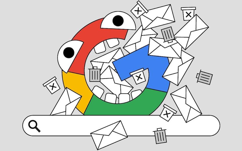 Kết quả tìm kiếm trên Google ngày càng bị quảng cáo chi phối. Ảnh: Telegraph.