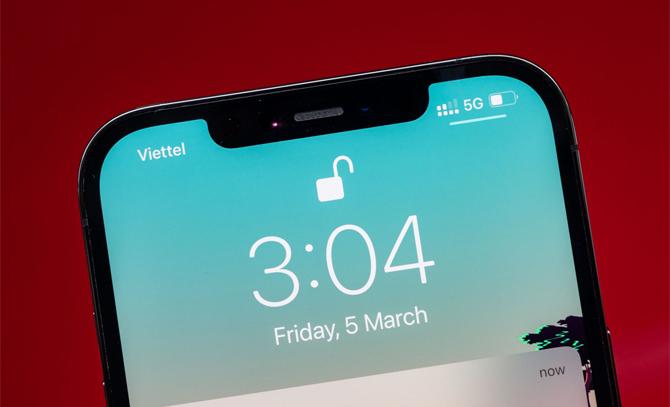 iPhone 12 lên sóng 5G tại Việt Nam. Ảnh:Đinh Ngọc Dũng