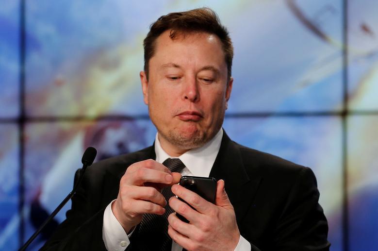 CEO Tesla Elon Musk. Ảnh: Reuters.