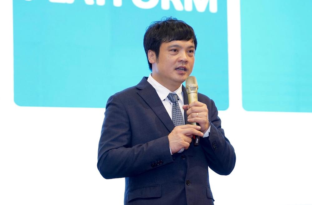 Chủ tịch Hiệp hội VINASA Nguyễn Văn Khoa. Ảnh: Tuấn Bùi.