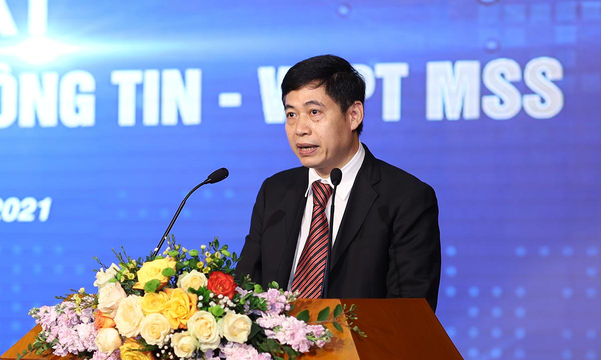 Ông Nguyễn Thành Phúc, Cục trưởng An toàn thông tin, Bộ Thông tin và Truyền thông.