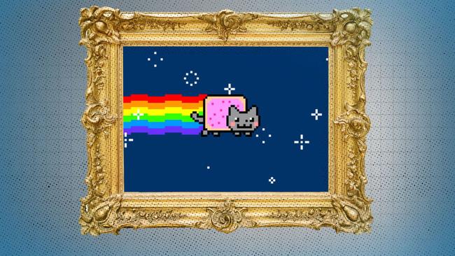 Bức tranh NFT giá 17.000 USD của Paris Hilton.
