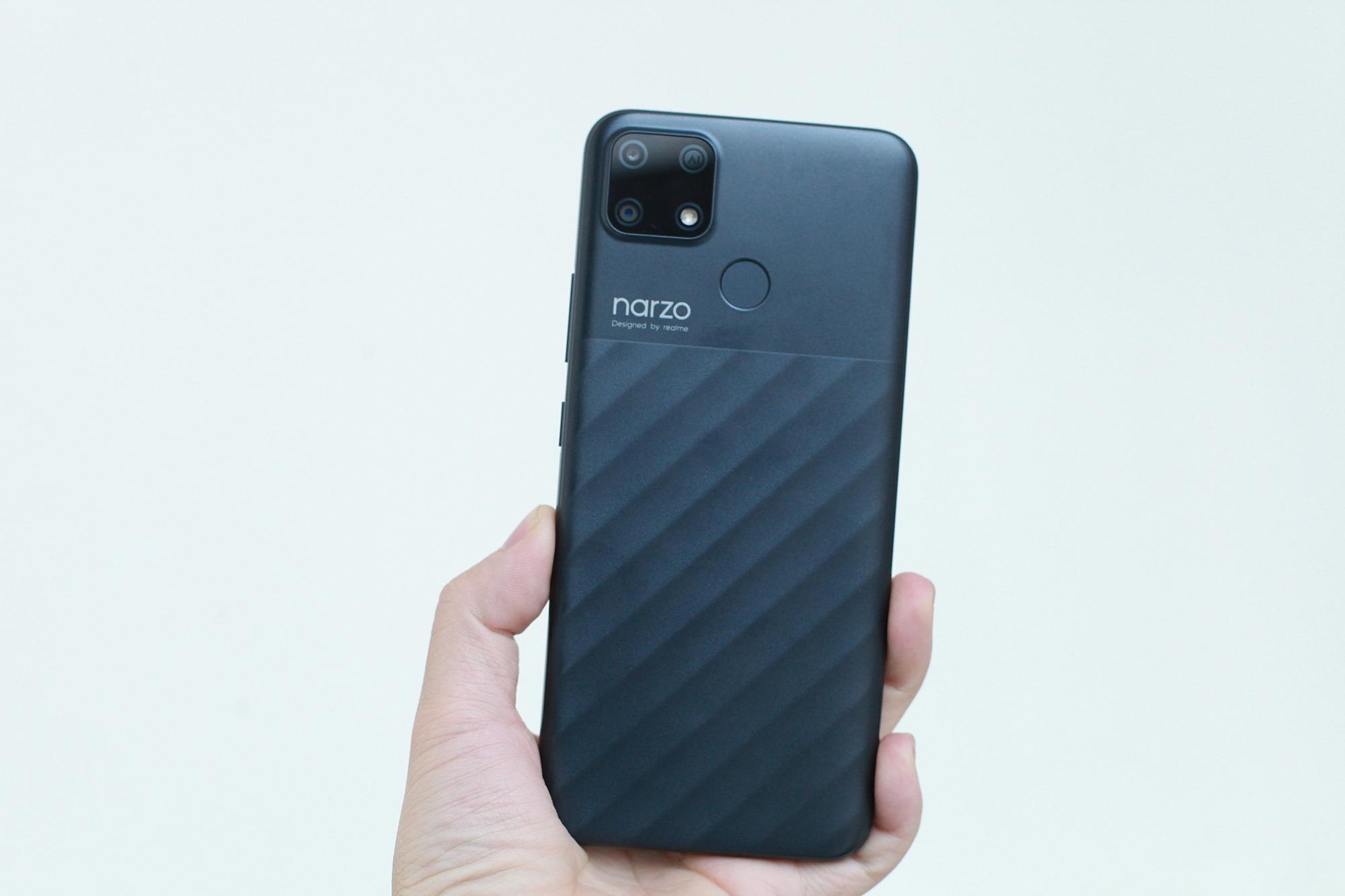 Điểm nhấn của điện thoại Realme narzo 30A - 4