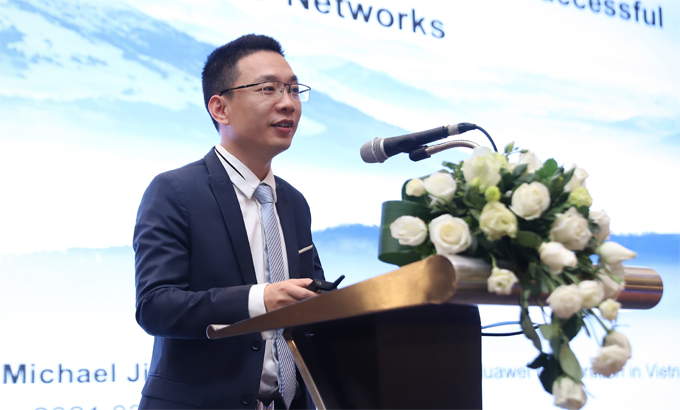 Ông Michael Jiang, Giám đốc Công nghệ Huawei Việt Nam.